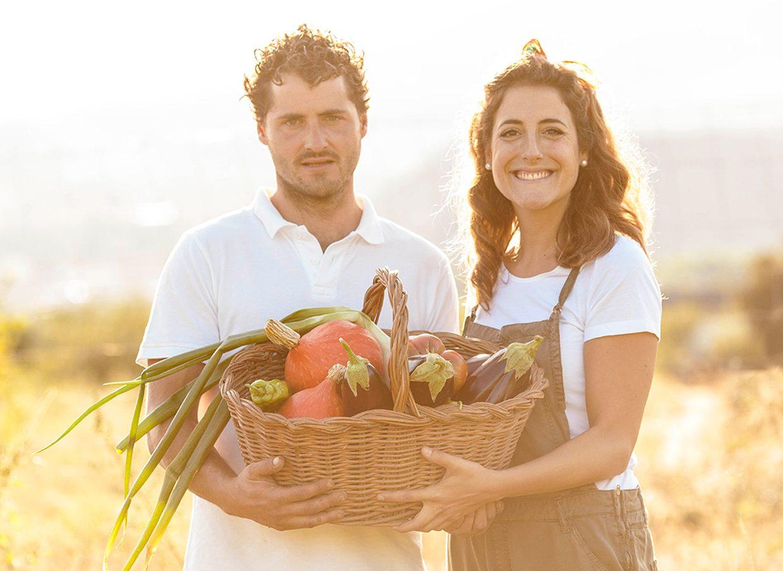David Lafuente ``Rizos`` un agricultor ecológico de corazón.